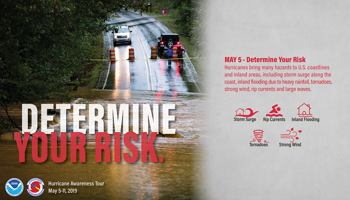 May 5: Determine Your Hurricane Risk